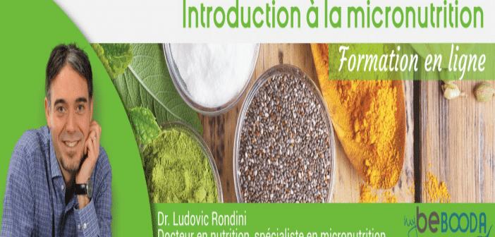 Introduction à la Micronutrition